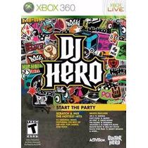 X Box 360 Juego Dj Hero Nuevo Dj Hero