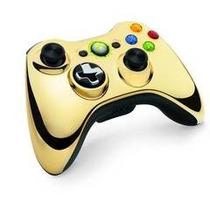 Control Chrome Gold Para Xbox 360 ¡sólo En Gamers!