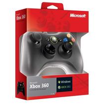 Control Alambrico Xbox 360 Y Pc Original En Caja - Rbgames.c