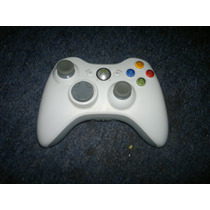 Control Inalambrico Original En Color Blanco Para Xbox 360