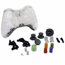 Carcasa Transparente Para Control Xbox 360