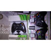 Control Inalámbrico Xbox 360 Con D-pad + Carga Y Juega