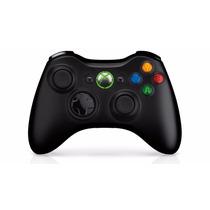Control Original Para Xbox 360 Inalambrico Negro Superprecio