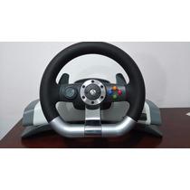 Vendo Volante Xbox 360 Completo, Pedales Y Base Original
