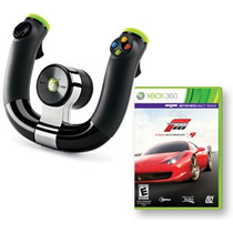Volante Inalámbrico Xbox 360 Original - Forza Motorsport 4