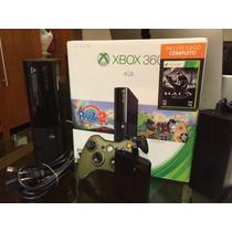 Xbox 360 Slim Con Rgh Disco Duro 500 Con 99 Jugos Lo Mejores