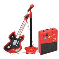 Gwell Guitar Amp Micrófono Y Rojo / Negro