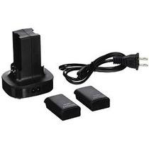 Batería Recargable Econoled 2 Paquete De Xbox 360 + Estación