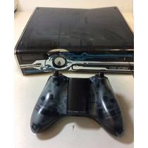 Consola Xbox Edicion Halo 4 Con Detalle
