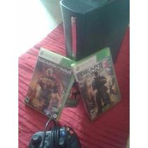 Consola Xbox 360 120 Gb Con 1 Control Y 2 Juegos