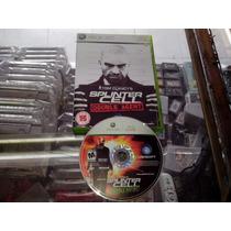 *** Tom Clancy´s Splinter Cell Double A Para Tu Xbox 360 ***