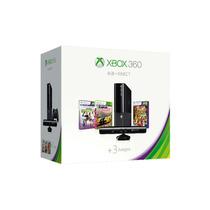 Consola Xbox 360 Slim E Con Kinect + 3 Juegos