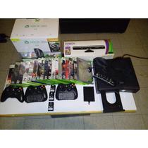 Consola Seminueva Xbox 360 Slim 2012 Dvd Original Wifi
