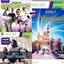 Pack Juegos Xbox Kinect Nike+disney+starwars+sports Original