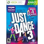Juego Just Dance 3 Xbox 360 Usado Kinect Blakhelmet E