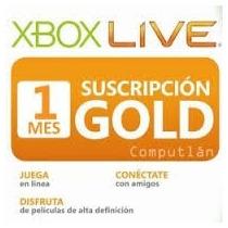 Membrecias Gold Xbox Live De 3 1 Y 12 Meses