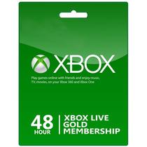 Tarjeta Xbox Live 48 Hrs. Gift Card Xbox 360 One Microsoft