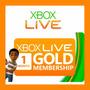 Membresia Xbox Live Gold 30 Dias Xbox 360 O Xbox One