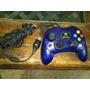 Control Xbox Normal Clasico Color Azul No Le Falla Nada