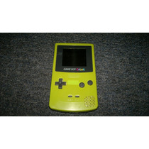 Game Boy Colors Color Verde Pistache,funcionando Perfectamen