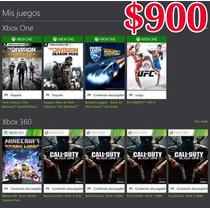 Cuenta Con Juegos De Xbox One
