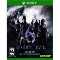 !!! Resident Evil 6 Hd Para Xbox One En Whole Games !!!