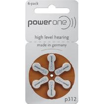 Power One P312 Audífono Batería (10 Paquetes De 6 Cada Una)