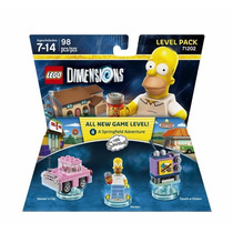Nuevo Y Sellado Lego Dimensions Simpsons Level Pack