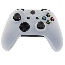 Funda De Silicon Protector Control Xbox360 Transparente