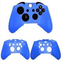 Funda De Silicon Protector Control Xbox360 Azul Rey