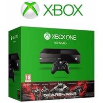 Nuevo Xbox One 500gb + Gears Of War Ultimate Garantía 1 Año
