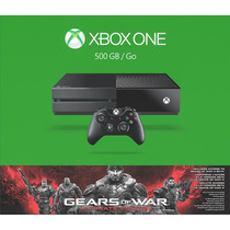 Xbox One 500gb Gears Of War Ultimate Edition Nuevo Y Sellado