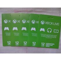12 Meses Suscripcion Gold Xbox One Y 360 -promocion-