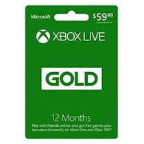 Xbox Live De 12 Meses De Membresía Gold [código De Juego Onl