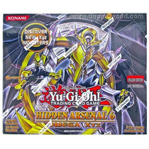 Hidden Arsenal 6 - 24 Pack Box - 1st. Edition - English