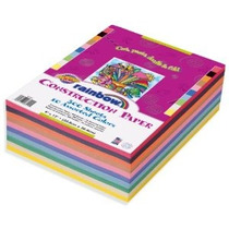 Rainbow Super Value Cartulina De 9 X 12 Pulgadas Colores Sur