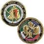 Nuevo Armadura De Dios Challenge Coin