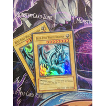 2x Blue-eyes White Dragon - Ske-001 - Super Rare