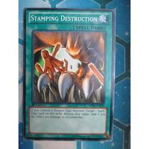 Yugioh 3x Stamping Destruction Comun 1st Sdbe-en022