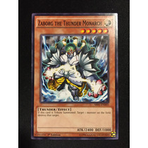 Yugioh Zaborg The Thunder Monarch Comun 1st Sr01-en005