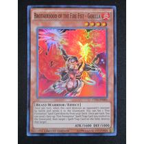 Yugioh 3x Brotherhood Of The Fire Fist Gorilla Super Ct11