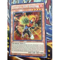 Elemental Hero Blazeman - Wsup-en032 - Prismatic Secret Rare