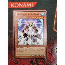 Yugioh 3x Samurai Of The Ice Barrier Comun 1st Bp02-en088