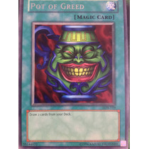 Pot Of Greed - Lob-119 - Rare