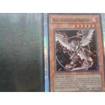 Carta Yu Gi Ho The Blak Flame Dragon Nivel 6