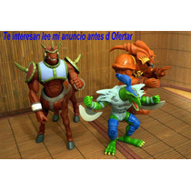 Lote 3 Figura Exodia Battle Ox & Guerrero Dragon Yu-gi-oh