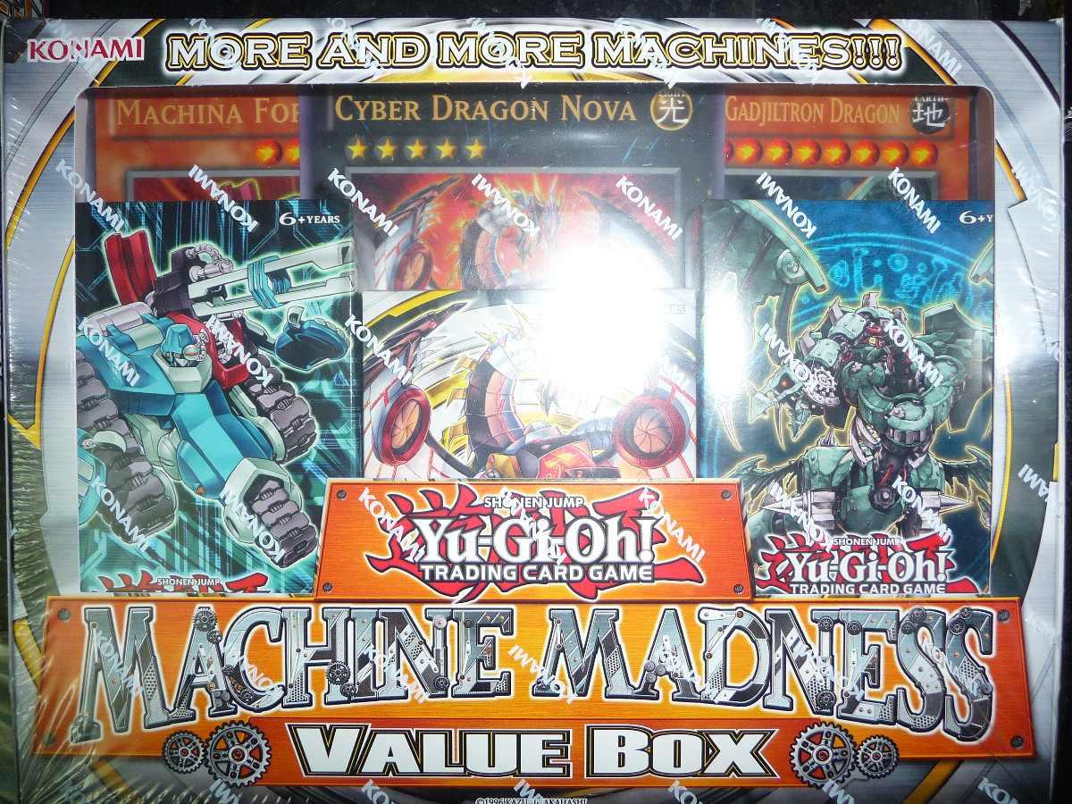 yugioh machine madness