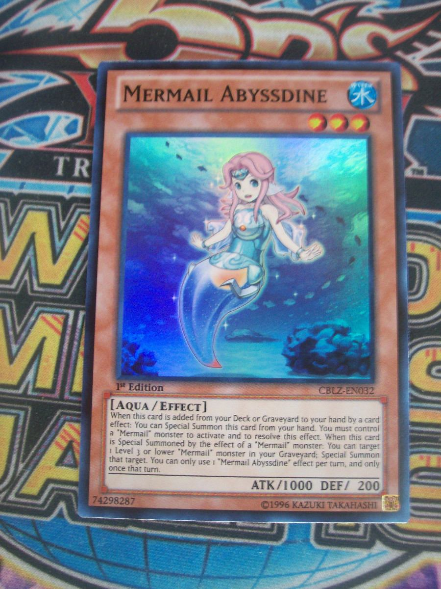 Mermail Abyssteus  YuGiOh!  FANDOM powered by Wikia