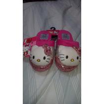 Pantuflas Hello Kitty, Sanrio Originales