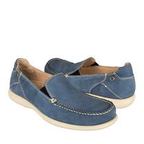 Quirelli Zapatos Caballero Casuales 84702 Piel Azul